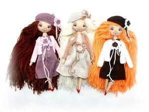 Новые улыбчивые куколки для игры.. Ярмарка Мастеров - ручная работа, handmade.