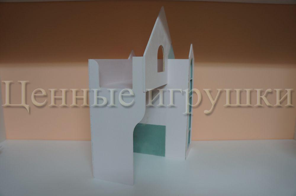 Мастер класс по сборке и оформлению кроватки домика., фото № 17