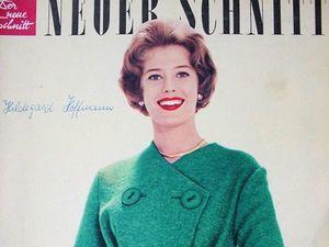Neuer Schnitt — старый немецкий журнал мод 9/1959. Ярмарка Мастеров - ручная работа, handmade.