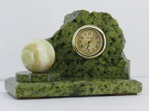 Часы из натурального камня. Ярмарка Мастеров - ручная работа, handmade.