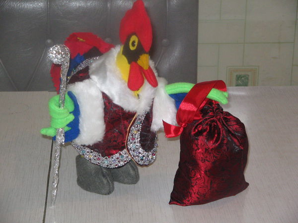 Как сшить новогоднего петушка | Ярмарка Мастеров - ручная работа, handmade