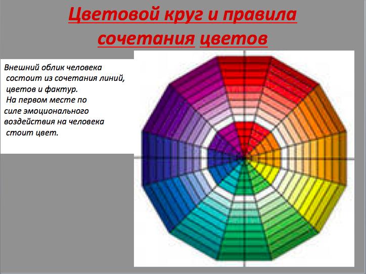 Искусство сочетать цвета