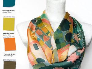 Как выбрать платок на осень. Ярмарка Мастеров - ручная работа, handmade.