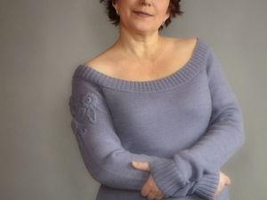 Универсальный пуловер. Ярмарка Мастеров - ручная работа, handmade.