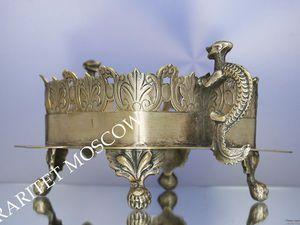 РАРИТЕТИЩЕ Ваза подставка бронза серебрение 56   Ярмарка Мастеров - ручная работа, handmade