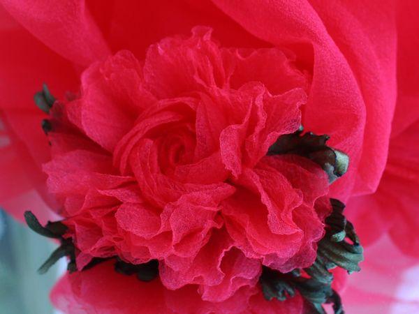 Воздушная летняя роза! Новинка! В наличии! | Ярмарка Мастеров - ручная работа, handmade