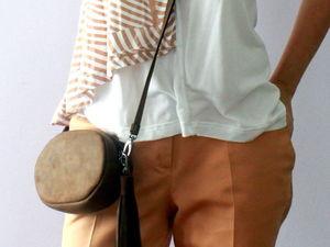 Поясная сумочка с дополнительным ремешком. Ярмарка Мастеров - ручная работа, handmade.