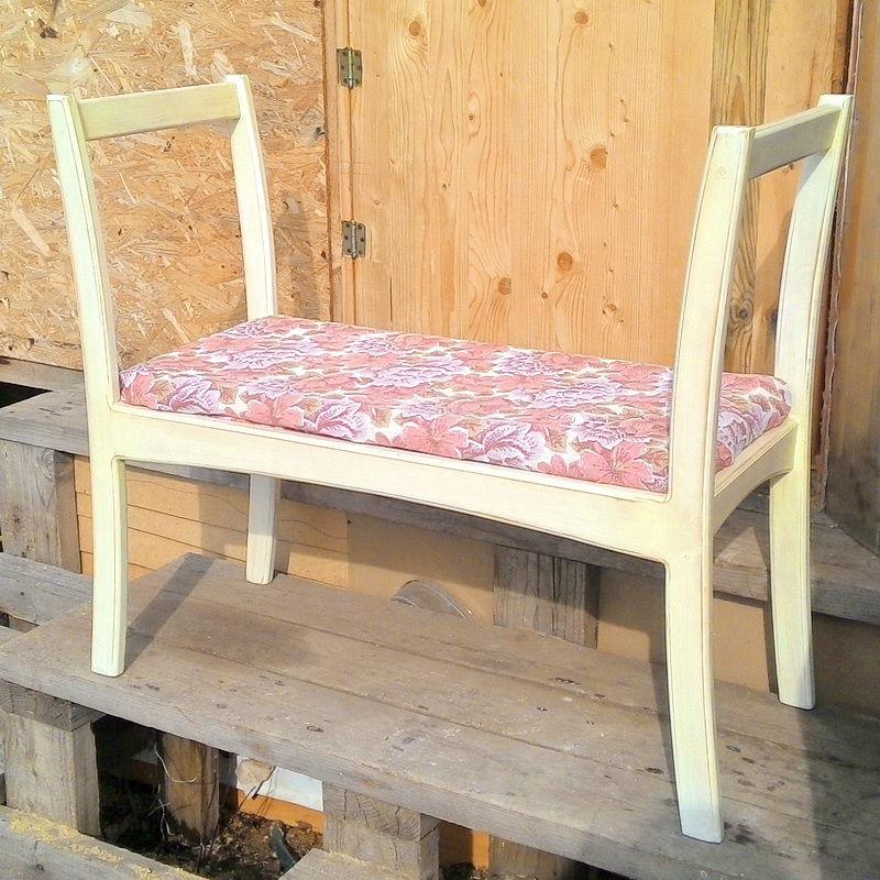 скамья, лавка, кантри, массив, мебель