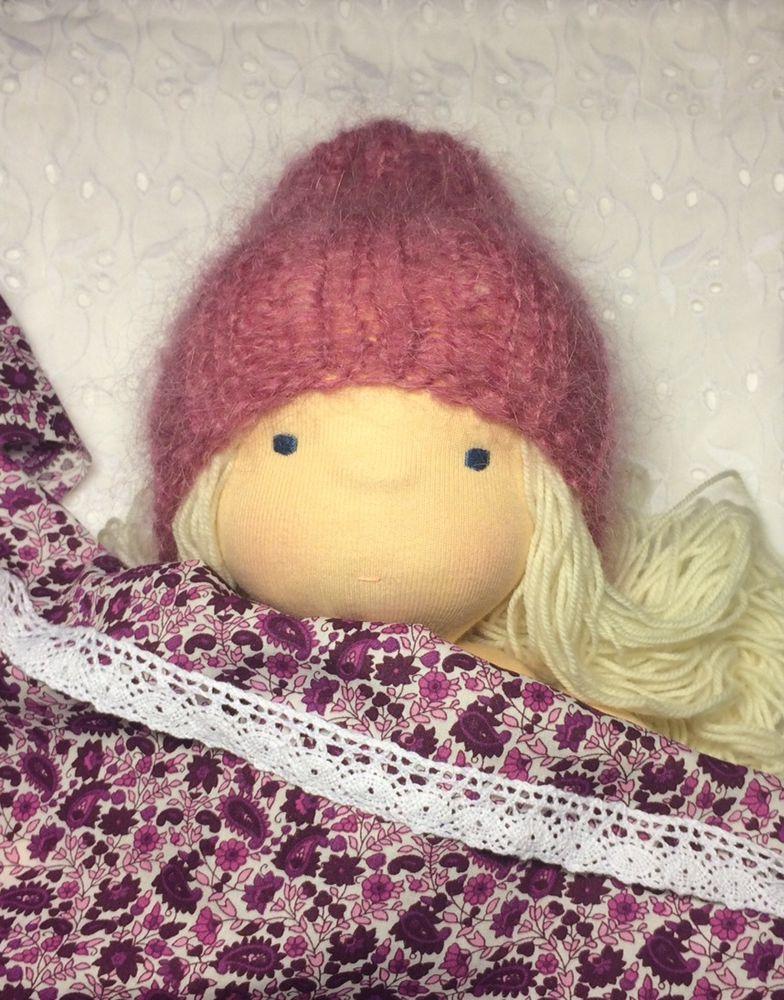 кукла ручной работы, вальдорфская игрушка, кукла интерьерная, подарки на новый год