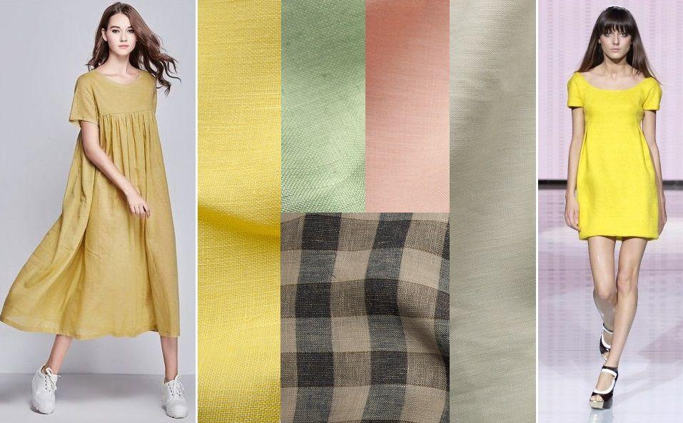лен, льняные ткани, платье из льна, плательные ткани, легкие ткани, ткани из италии, ткани для одежды, одежда из льна