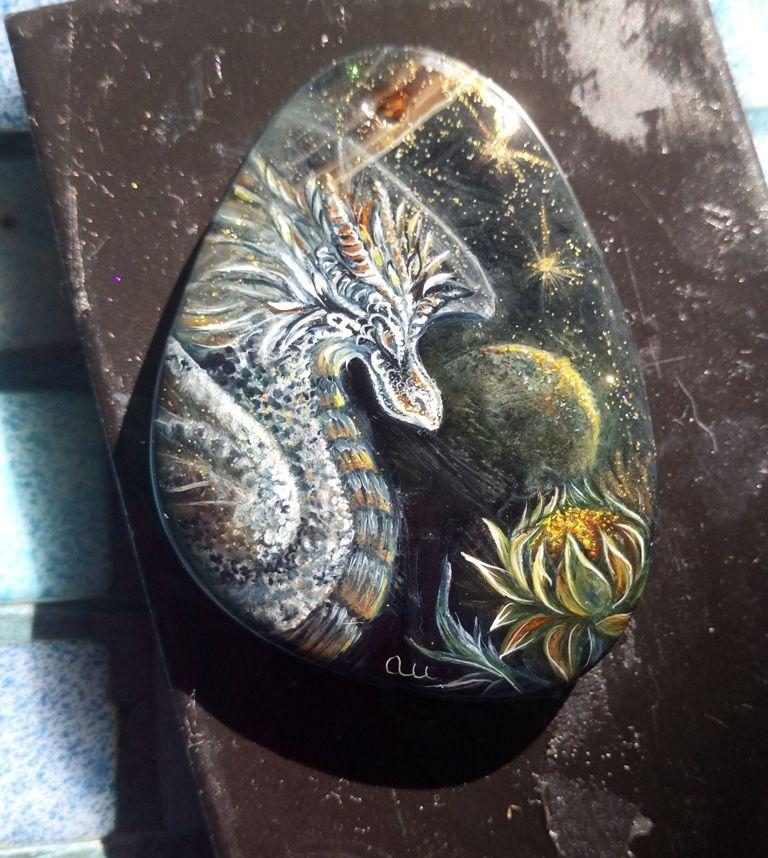 дракон роспись