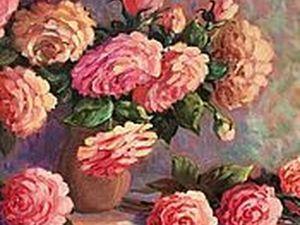 Весна.Цветы..Картина Елены Шведовой в подарок.. Ярмарка Мастеров - ручная работа, handmade.