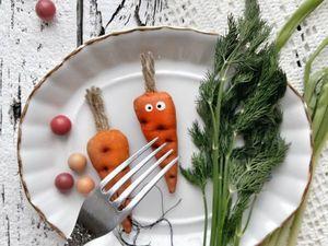 Шьем веселую морковку быстро и просто. Ярмарка Мастеров - ручная работа, handmade.