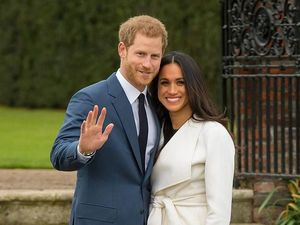 The Last Preparations for the Royal Wedding of Prince Harry and Meghan Markle. Livemaster - handmade