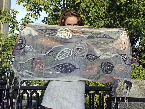 На что способен шарф- трансформер | Ярмарка Мастеров - ручная работа, handmade