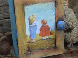 История как дети играли в весну. Я растекаюсь в улыбке)). Ярмарка Мастеров - ручная работа, handmade.