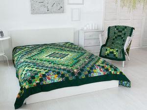 Лоскутное покрывало / Пэчворк / Лоскутное одеяло от Елены Мазуровой. Ярмарка Мастеров - ручная работа, handmade.