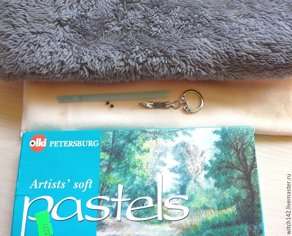 Мастер-класс: как сшить брелок в форме ёжика, фото № 1
