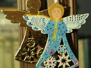 Делаем прелестных ангелочков на елку. Ярмарка Мастеров - ручная работа, handmade.
