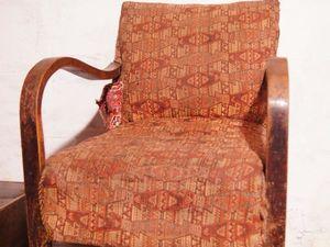Винтаж, лофт и старое кресло. Возвращаем к жизни старую мебель. Ярмарка Мастеров - ручная работа, handmade.