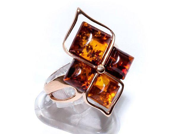 Янтарное кольцо