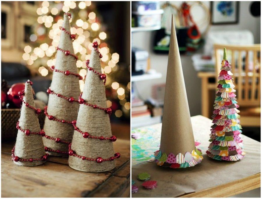 Идеи для рождественских украшений своими руками