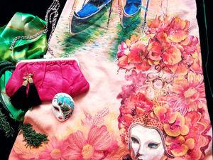 Роскошное платье Карнавал в Венеции участвует Конкурсе Вокруг света 2018 — прошу поддержать голосами!. Ярмарка Мастеров - ручная работа, handmade.