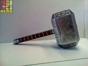 Мьёльнир Молот Тора Марвел Тор 3 Рагнарок. Ярмарка Мастеров - ручная работа, handmade.
