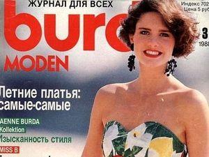 Burda Moden № 3/1988. Технические рисунки. Ярмарка Мастеров - ручная работа, handmade.