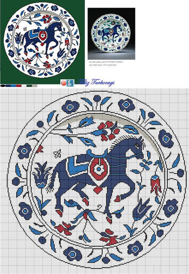 вышивка керамика