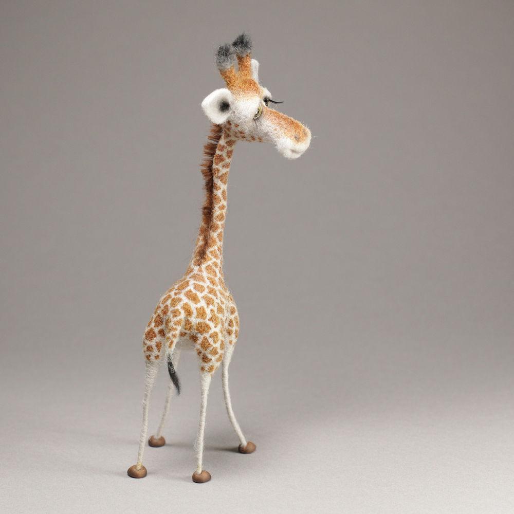 валяние, жираф