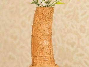 Аукцион на вазу ручной работы!!! Старт 4800!!!. Ярмарка Мастеров - ручная работа, handmade.