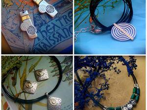 Серебряные украшения со скидкой 30%!!!. Ярмарка Мастеров - ручная работа, handmade.