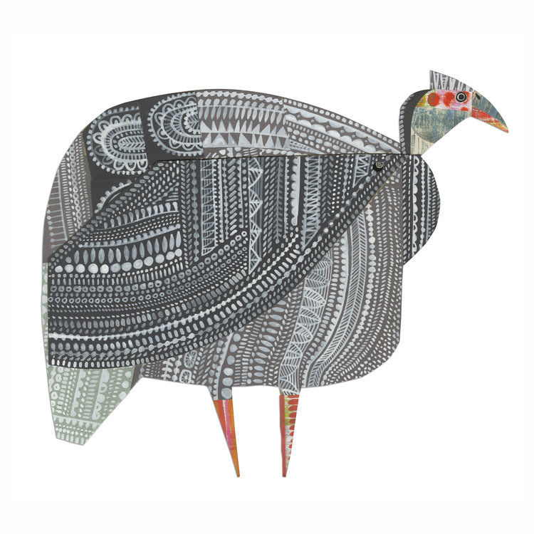 Cheerful Animals of Paper and Fabric by the Designer Clare Youngs, фото № 17