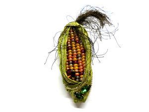 В наличии новые броши — кукурузки!. Ярмарка Мастеров - ручная работа, handmade.