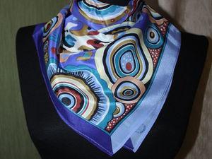 Летняя распродажа шейных платочков | Ярмарка Мастеров - ручная работа, handmade