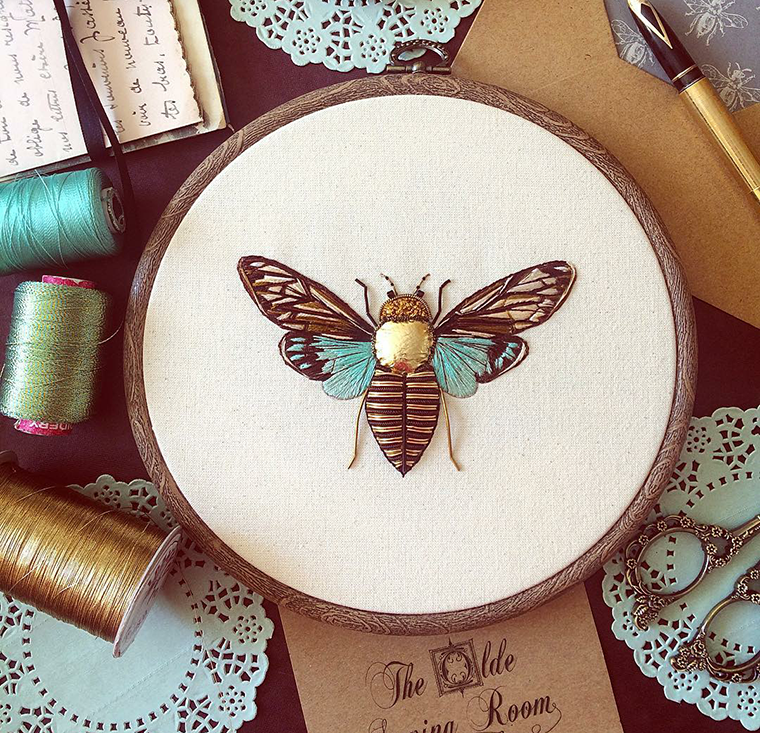 Nobby Cannetille Amazing Embroidery By Humayrah Poppins Livemaster
