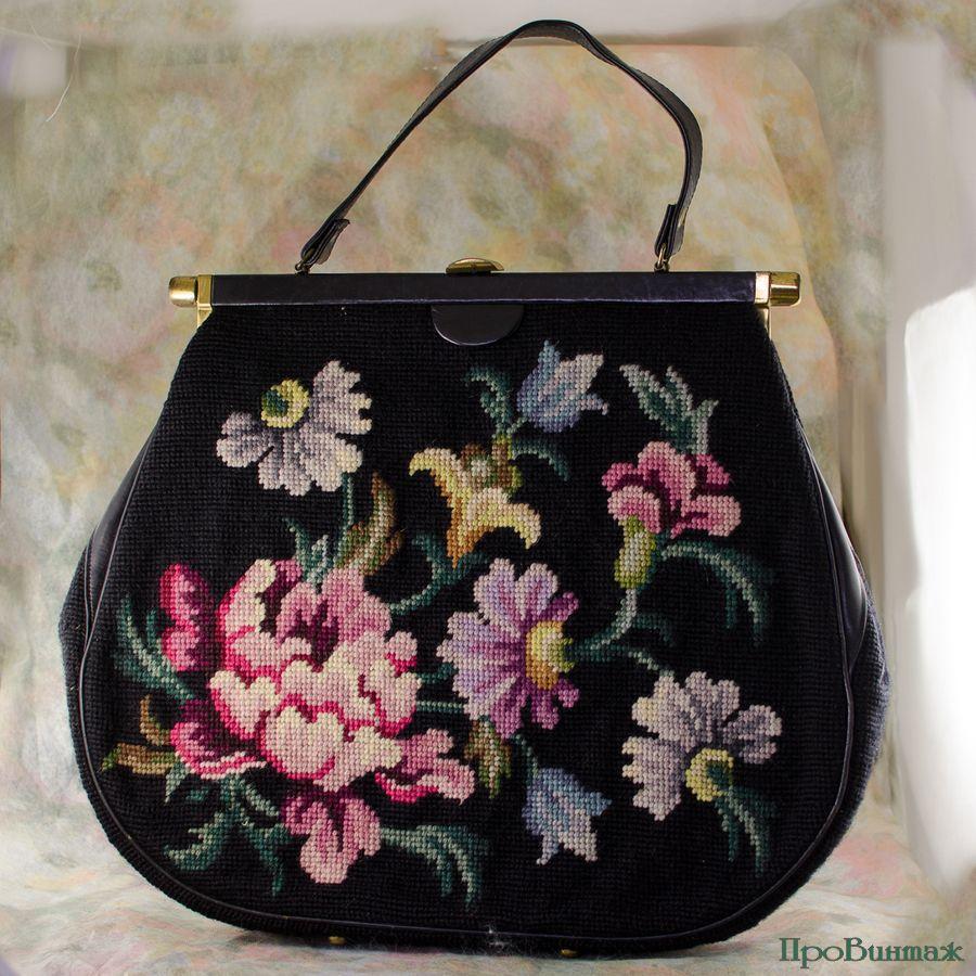 провинтаж, сумка, сумка с цветами, распродажа сумок, акция к новому году, ретро, подарки к новому году