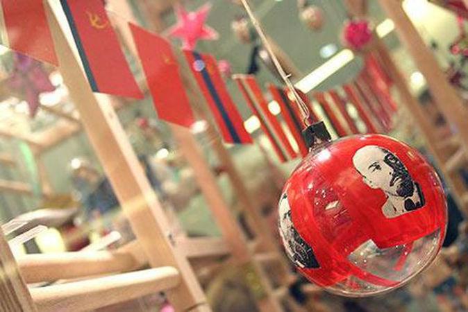 советский союз, рождественский декор
