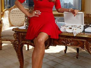 Безупречный стиль первой леди США Мелании Трамп. Ярмарка Мастеров - ручная работа, handmade.