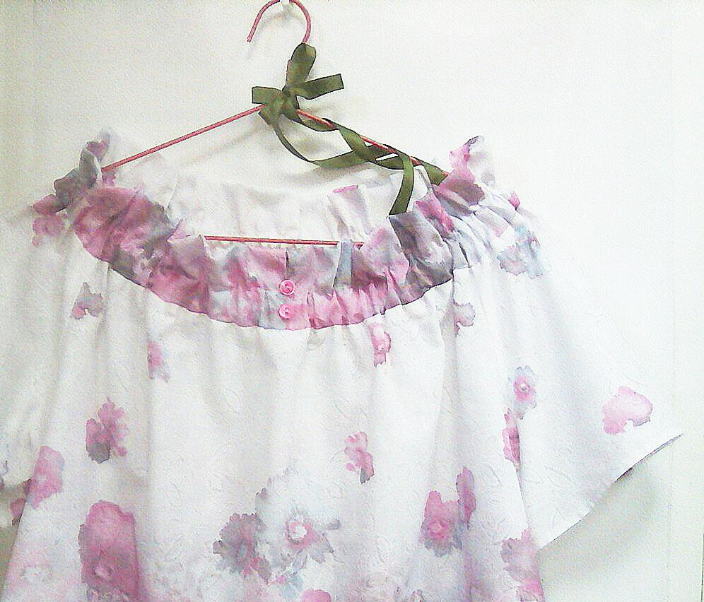 конкурс коллекций, блузка