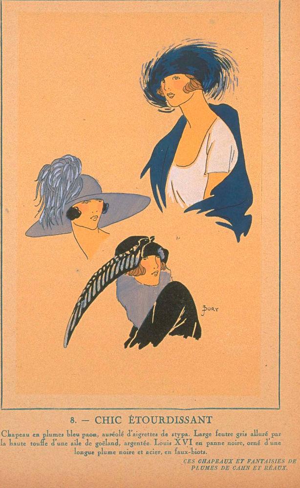 Ах, какие шляпки! Шляпная мода 1922 года по версии французского журнала «Les chapeaux du Tres parisien». Часть 2, фото № 29