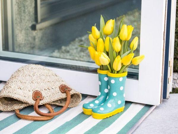 10 оригинальных способа украсить дом цветами | Ярмарка Мастеров - ручная работа, handmade
