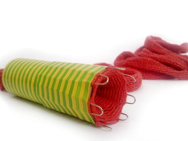 Как сделать станок для вязания полого шнура своими руками | Ярмарка Мастеров - ручная работа, handmade