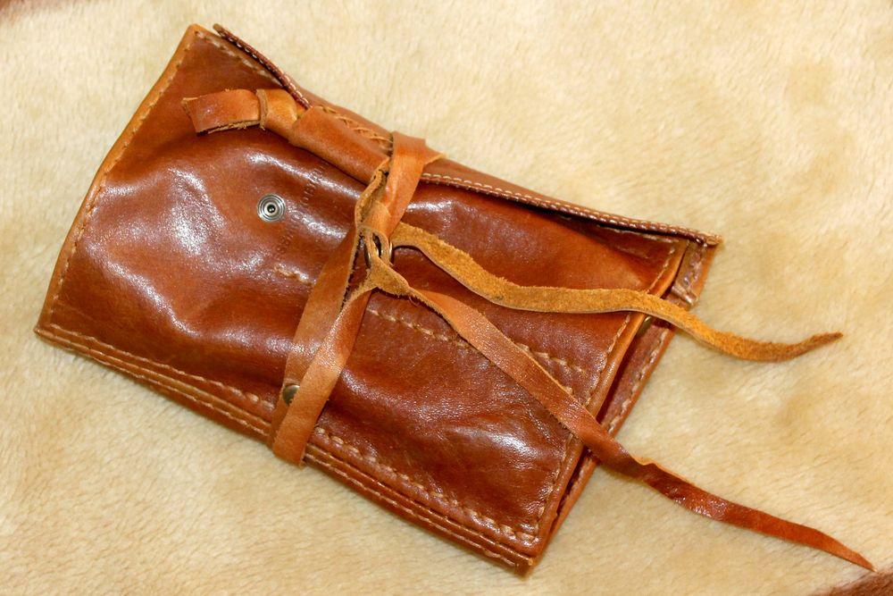 натуральная кожа, ключница, pouch, leathercraft