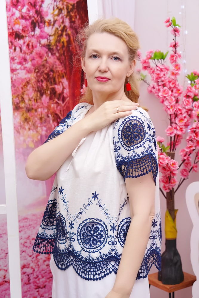 блузка на заказ, летнее платье
