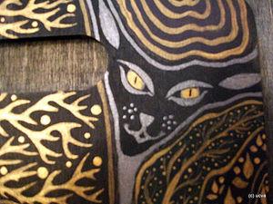 Кошка и воздушный поцелуй   Ярмарка Мастеров - ручная работа, handmade