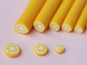 Лепим из полимерной глины кейн «Лимон». Ярмарка Мастеров - ручная работа, handmade.