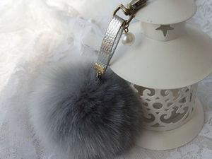 Помпоны из меха. Украшаем шапки к Душевному Базару! | Ярмарка Мастеров - ручная работа, handmade