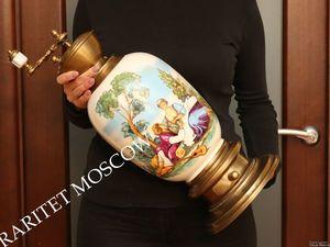 Раритетище Кофемолка Гигант бронза латунь фарфор 10. Ярмарка Мастеров - ручная работа, handmade.